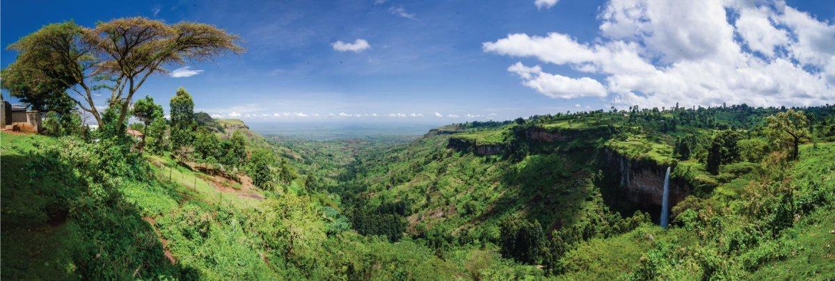 Sipi Falls Uganda