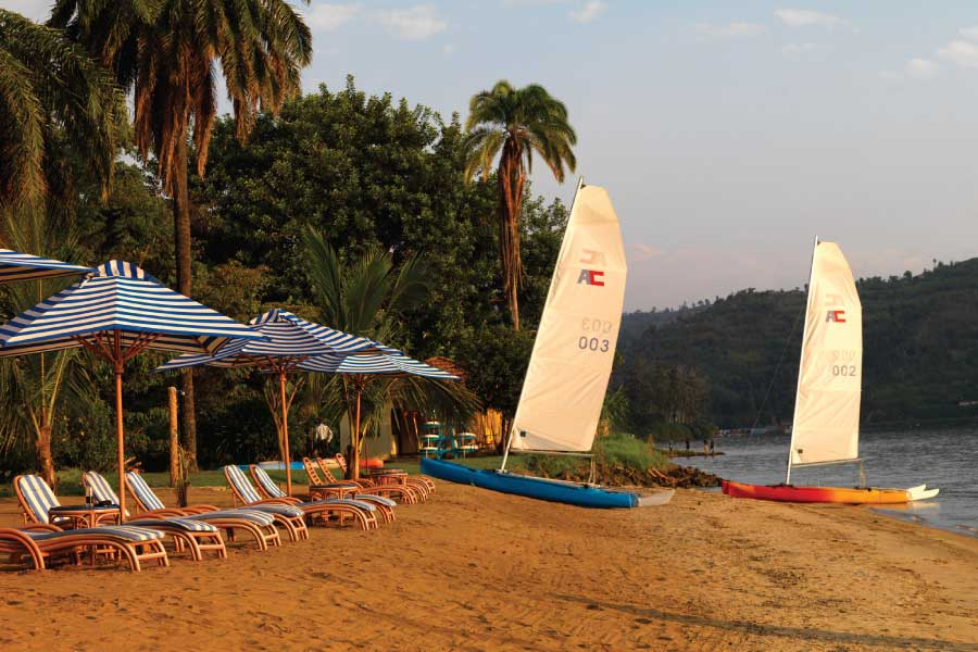Lake Kivu, Rubabu - Gisenyi - Rwanda Beaches