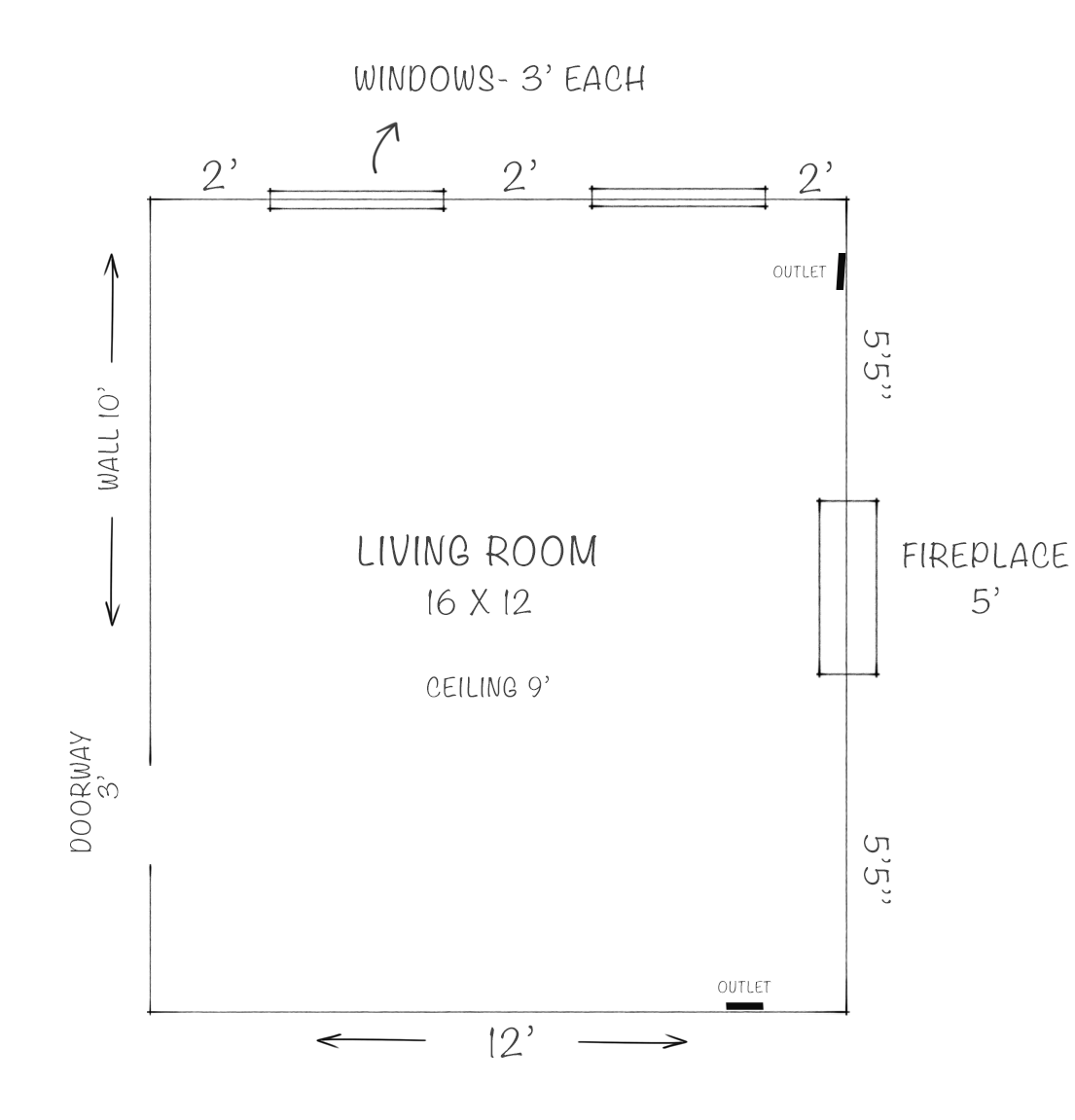 How To Photograph Amp Measure Room For E Design