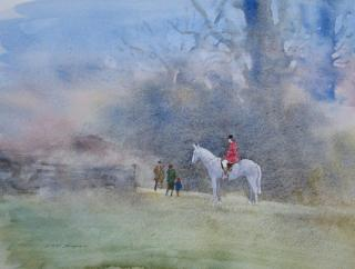 Going to the Meet by Ian Piper