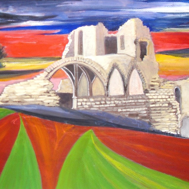 St Cuthbert's Paper award - Kirkham Priory by Rita Brown