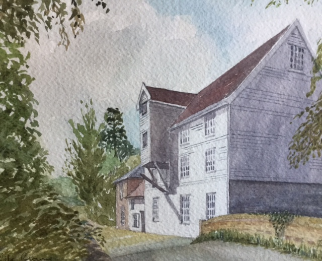 Baylham Mill by Rita Browne