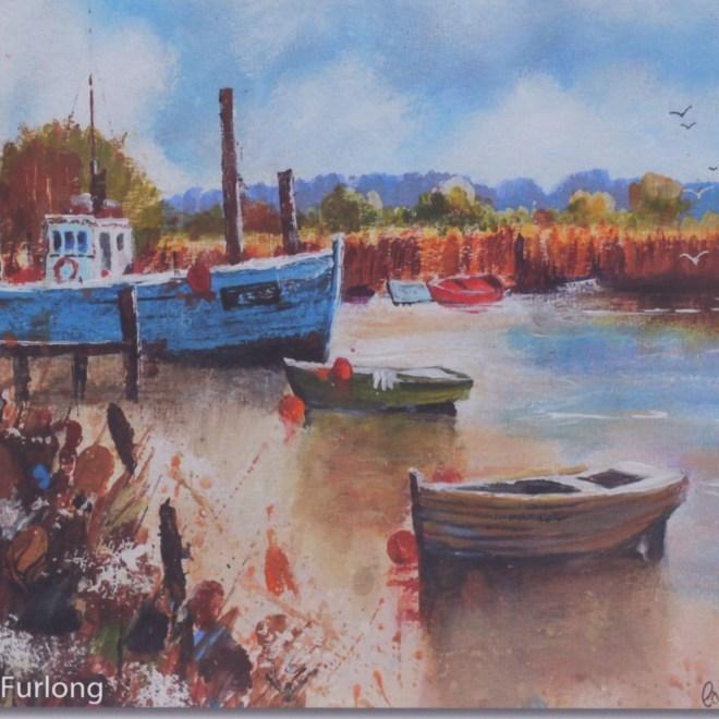 Watercolour by Caroline Furlong