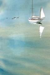 Misty moorings by Tony Hatt