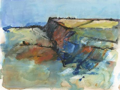The SEAW Members Award: Tregardock Cliffs by Vandy Massey