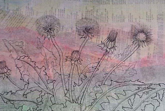 Dandelions by Janet Hathiramani