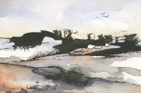 The Tors Dartmoor I by Penny Newman