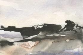 The Tors Dartmoor II by Penny Newman
