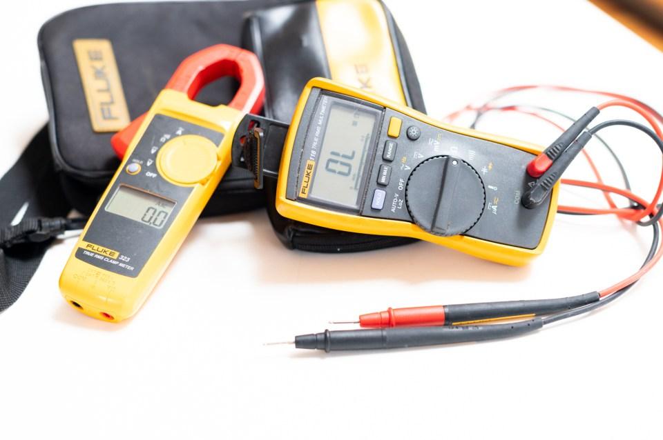 Fluke Amp Meter and digital multi-meter