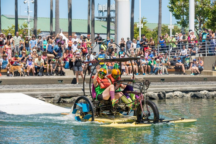 Amphibious Bike Race