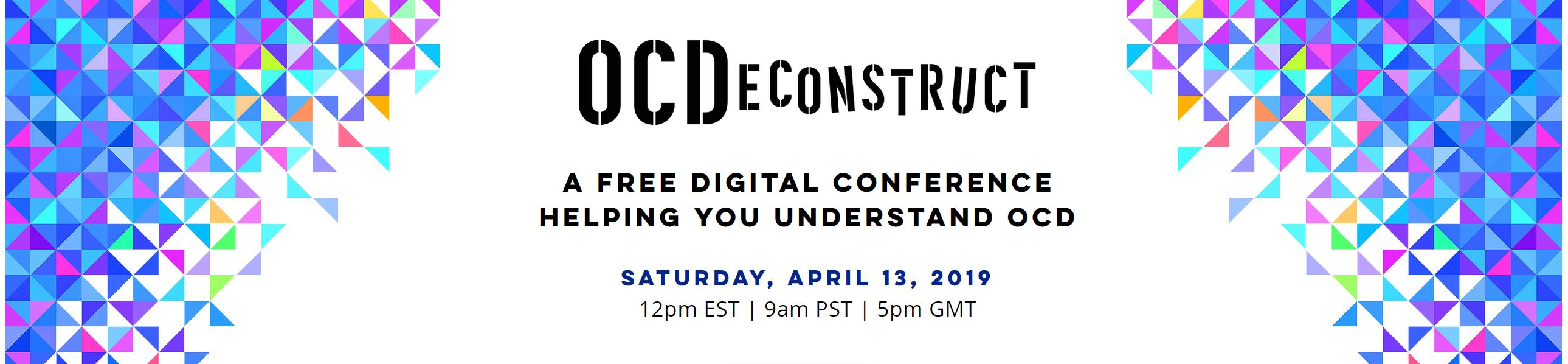 Superthinkers: Attend an online conference to beat OCD -