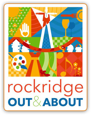 Join us at Rockridge Out and About!