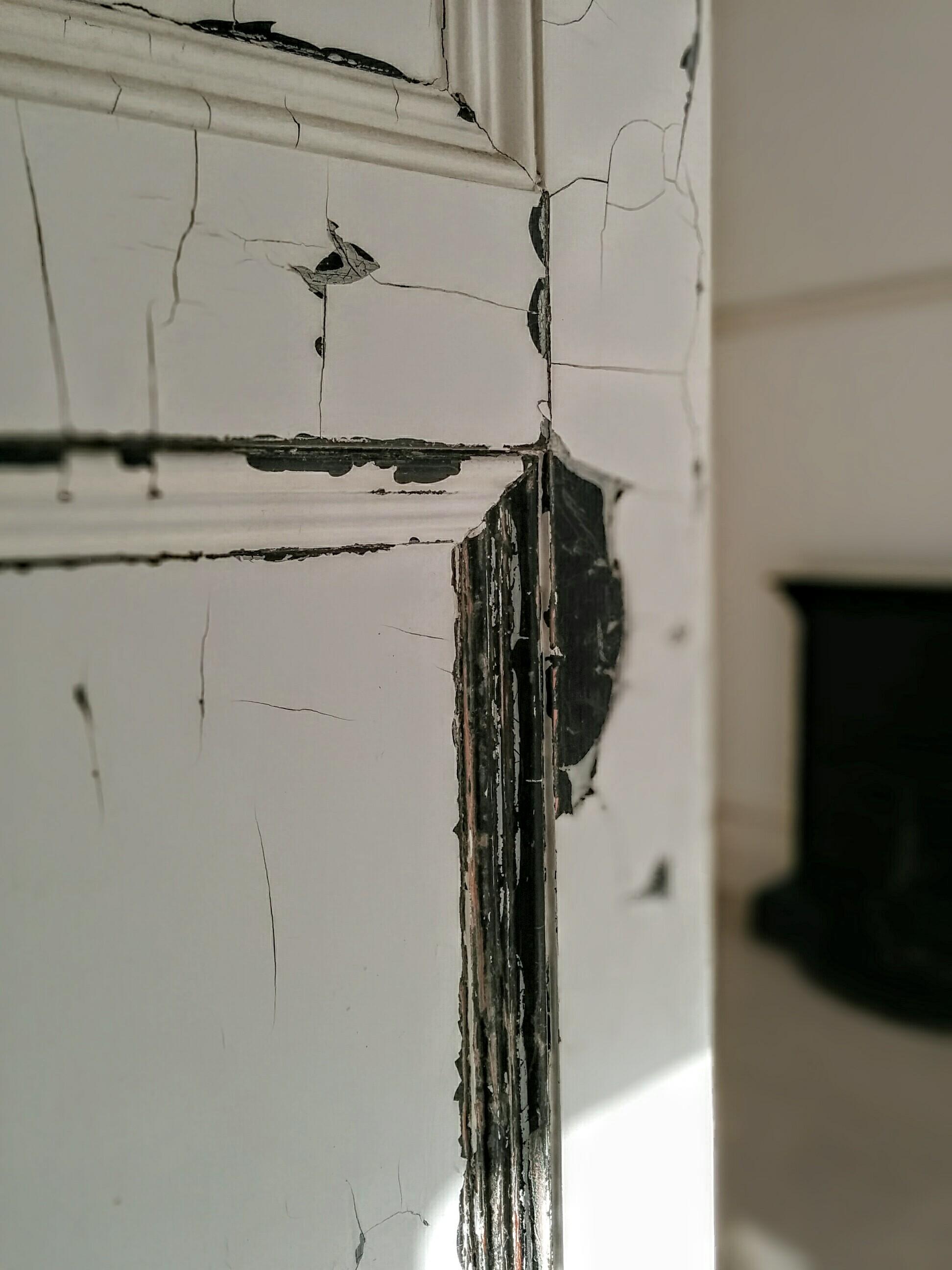 Door with paint peeling | Eastbourne Diary
