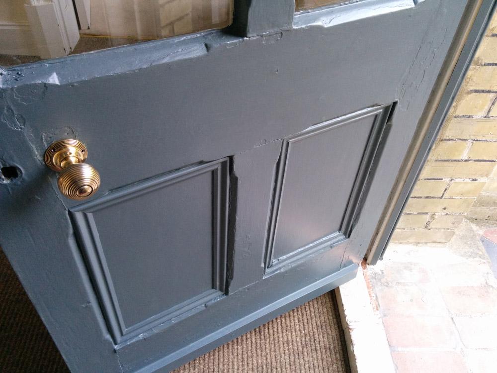 backdoor exterior Inchyra Blue