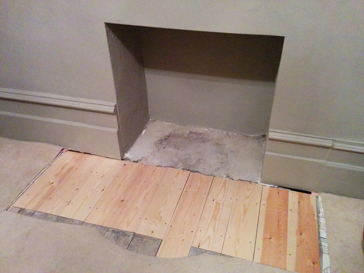 living room fireplace december 2016