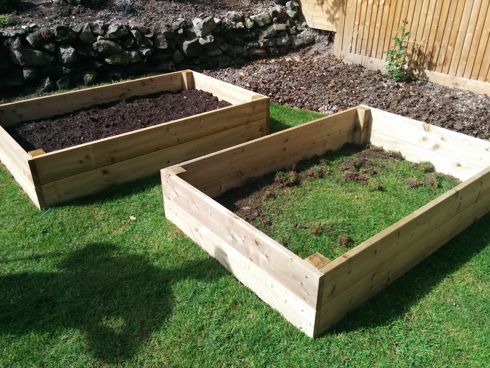 building raised beds 2