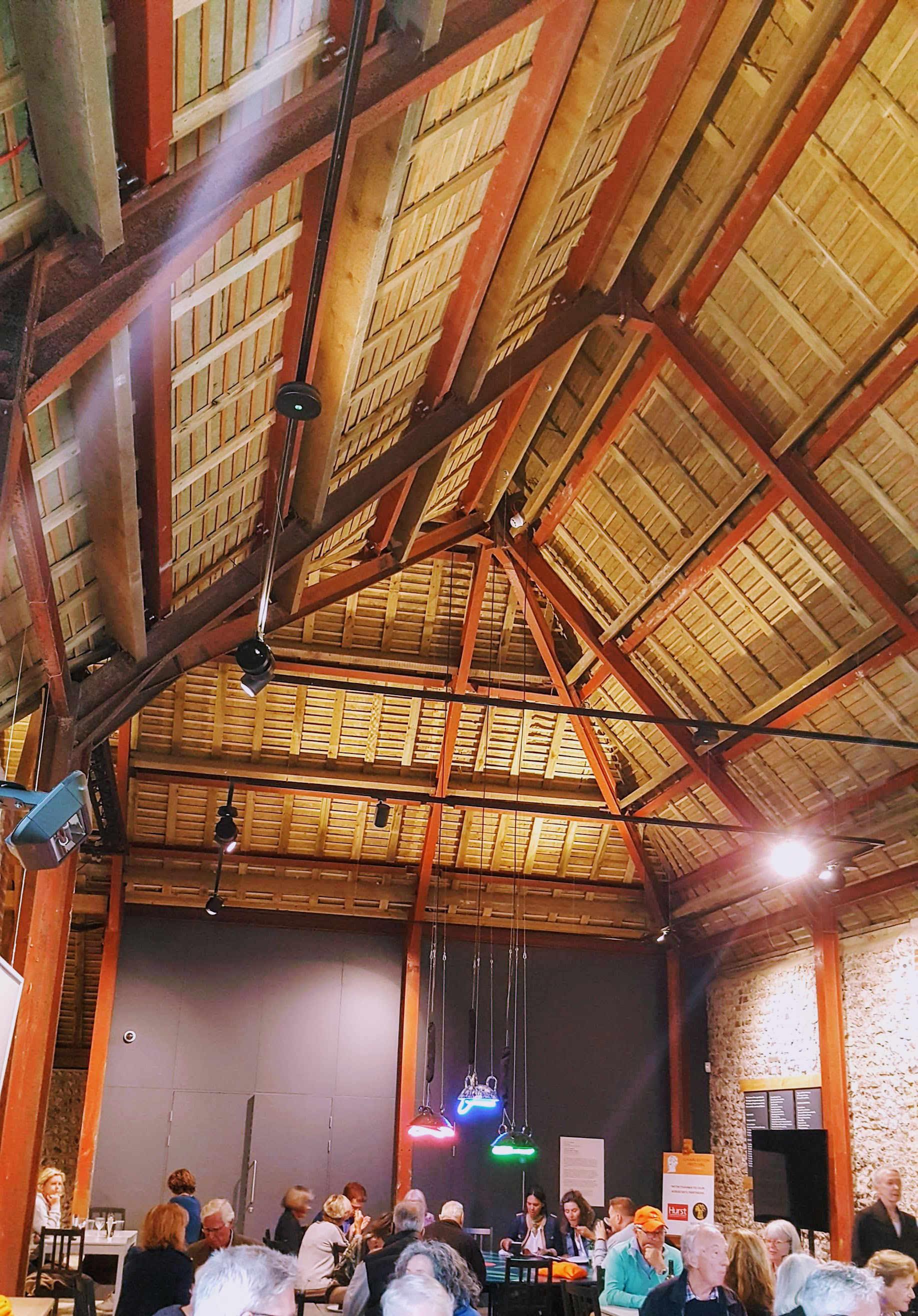 Charleston Barn interior