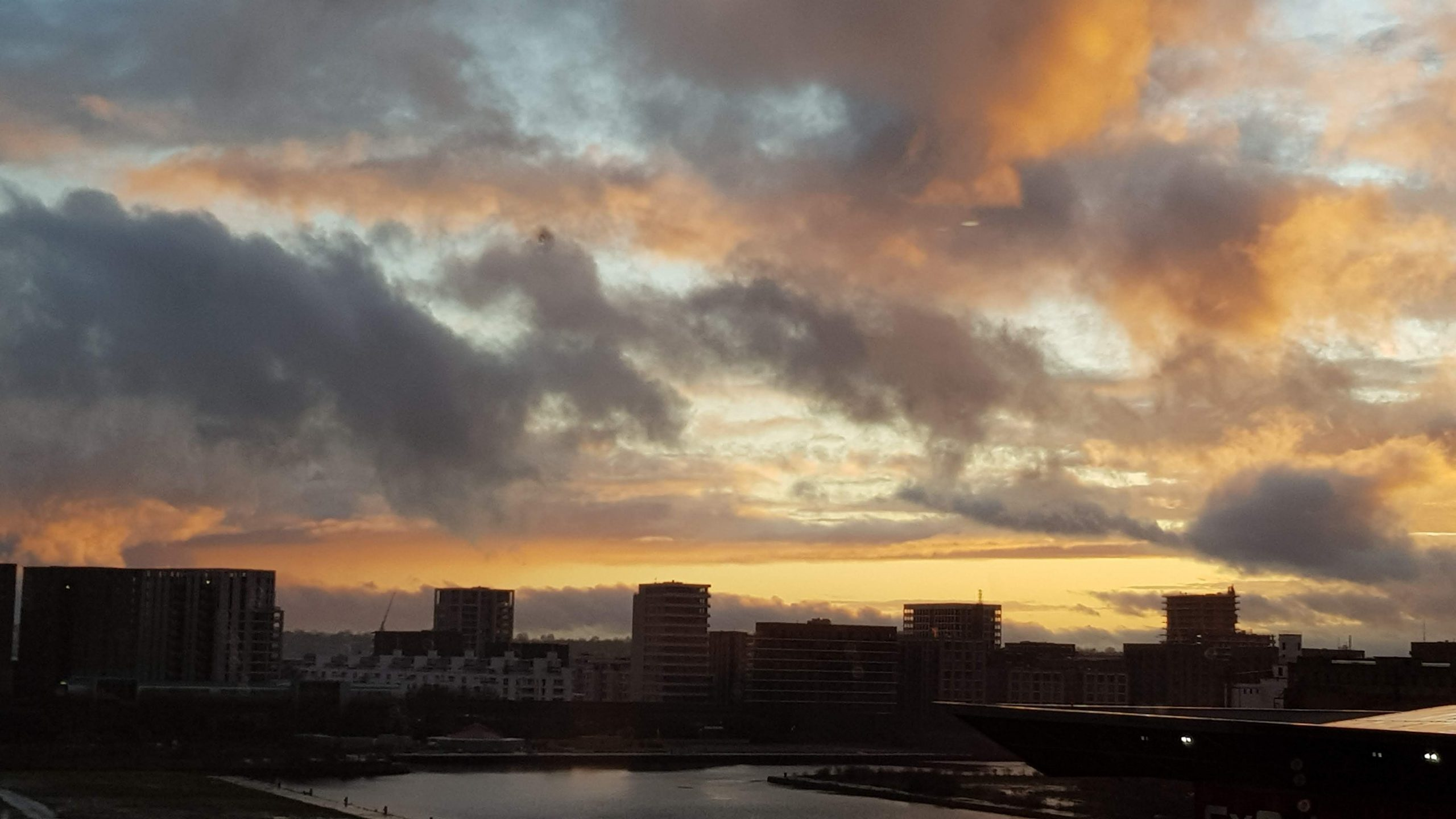 Sunset from the Aloft
