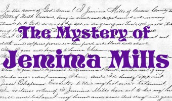 The Mystery of Jemima Mills