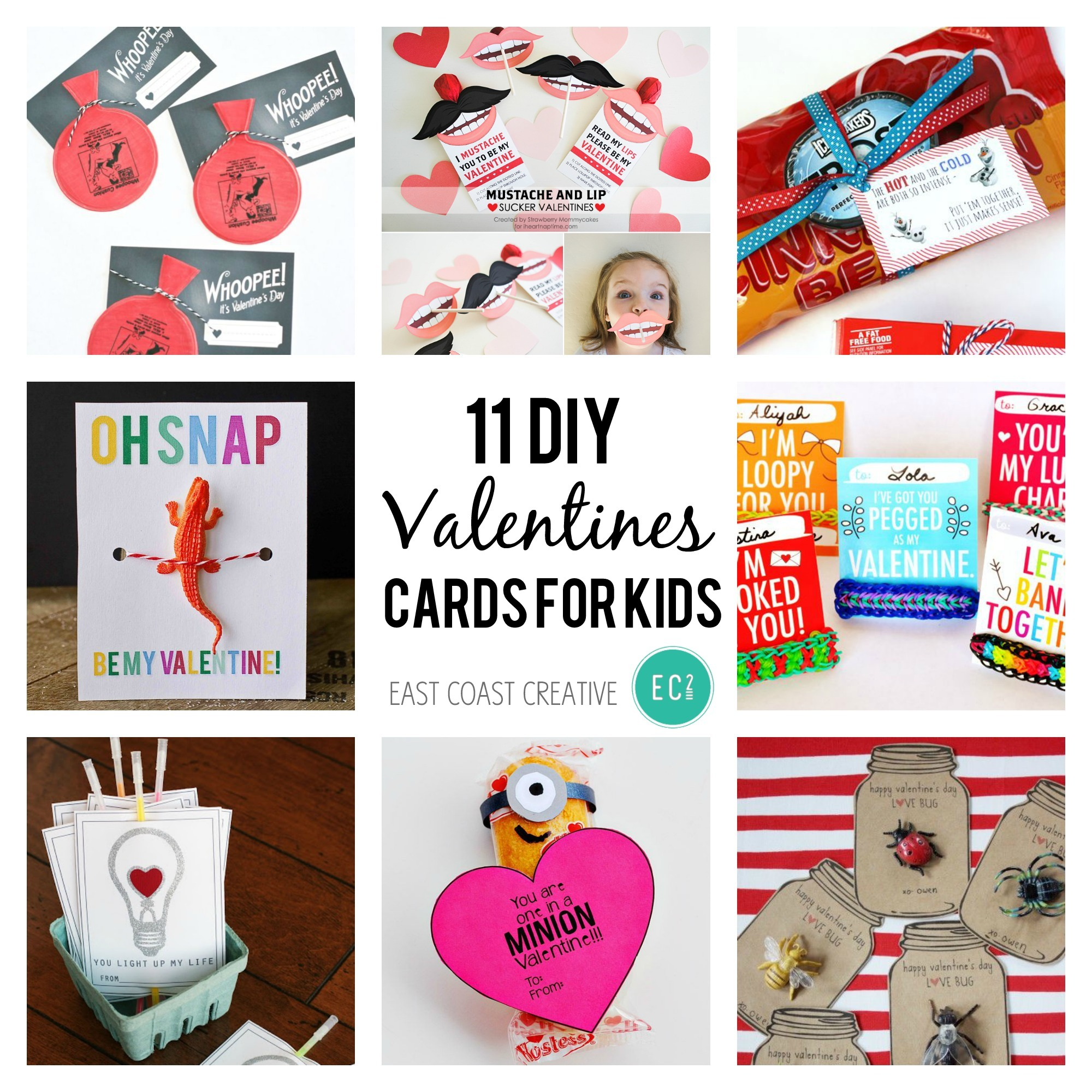11 Diy Valentine S Day Cards For Kids
