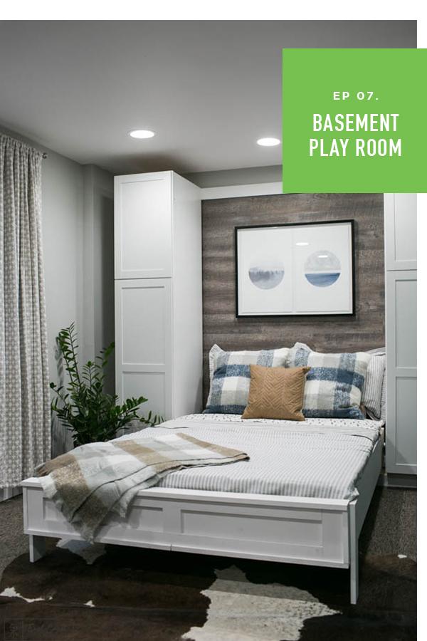 Weekender S3 Episode 7 Murphy Bed Basement Makeover