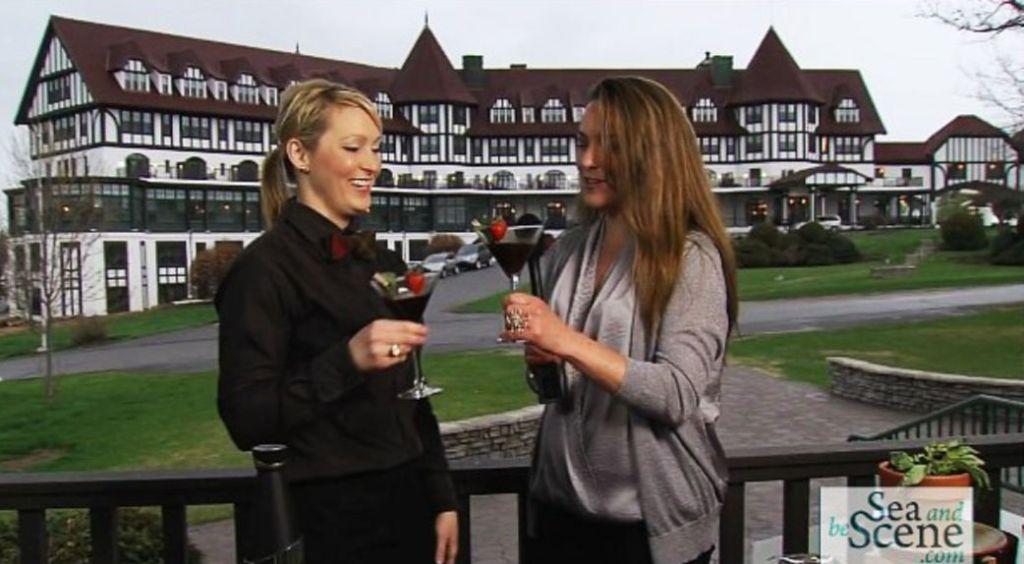 Algonquin Resort's Julie Eldridge with Stephanie Beaumont SABStv