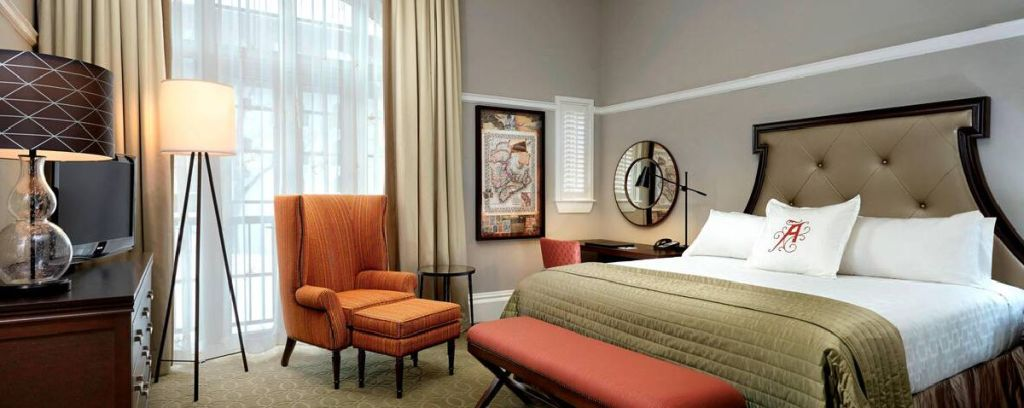 Algonquin Resort guest rooms