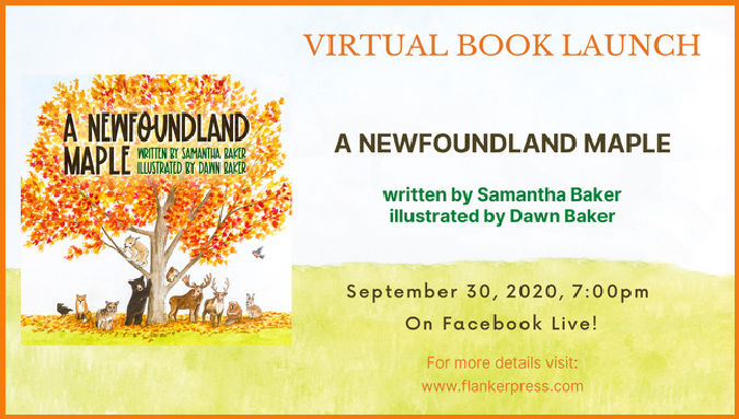 A NEWFOUNDLAND MAPLE book launch(1)