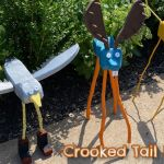 Crooked Tail Folk Art Feature