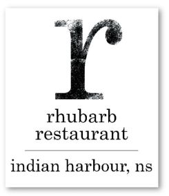RHUBARB Restaurant Logo