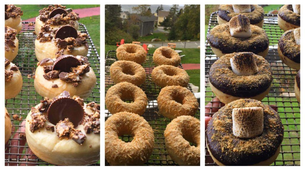 Rhubard Restaurant donuts