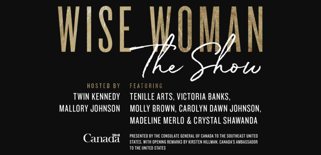wise woman the show concert poster