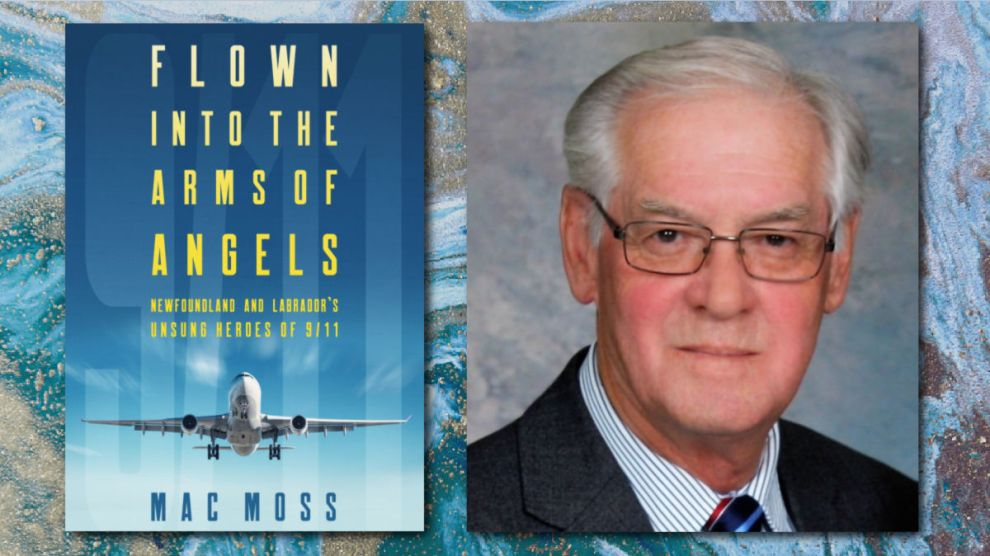 FLOWN INTO THE ARMS OF ANGELS by Mac Moss