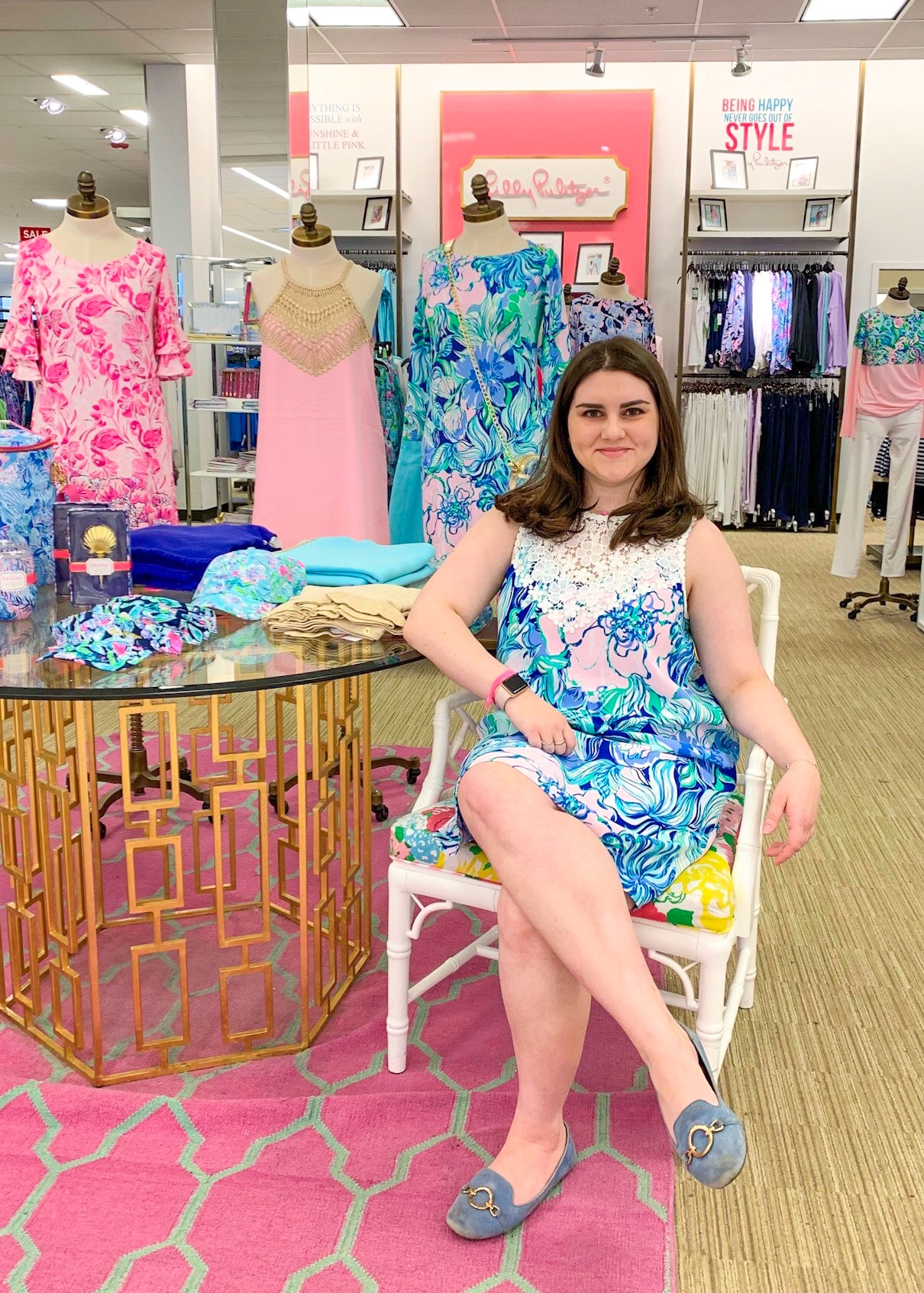 985f116245419 Lilly Pulitzer has new arrivals for Spring! I was asked by my local Lilly  store to model some of the new things
