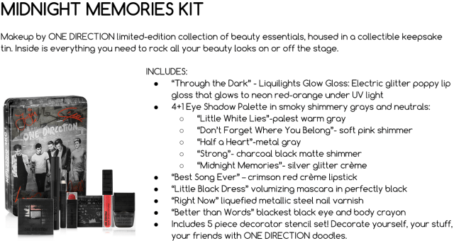 3 Simple Steps To Win One Direction Tour Tickets & Their New Makeup Set!