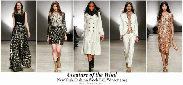New York Fashion Week Fall Winter 2015 Recap