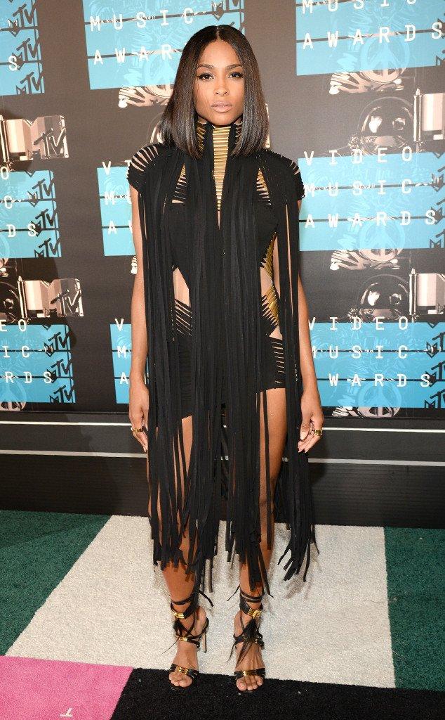 CIARA, 2015 MTV VMAs Red Carpet Best Dressed