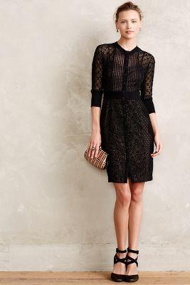 New Looks, Byron Lars Mona Dress, Anthropologie
