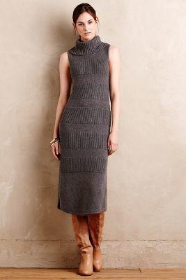 Moth Turtleneck Sweater Dress, Anthropologi, New Looks