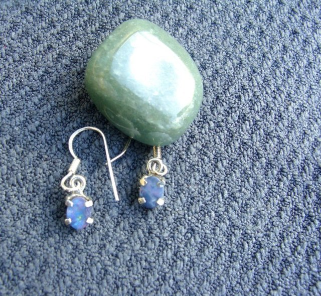 change within yourself, opal earrings, meditation,