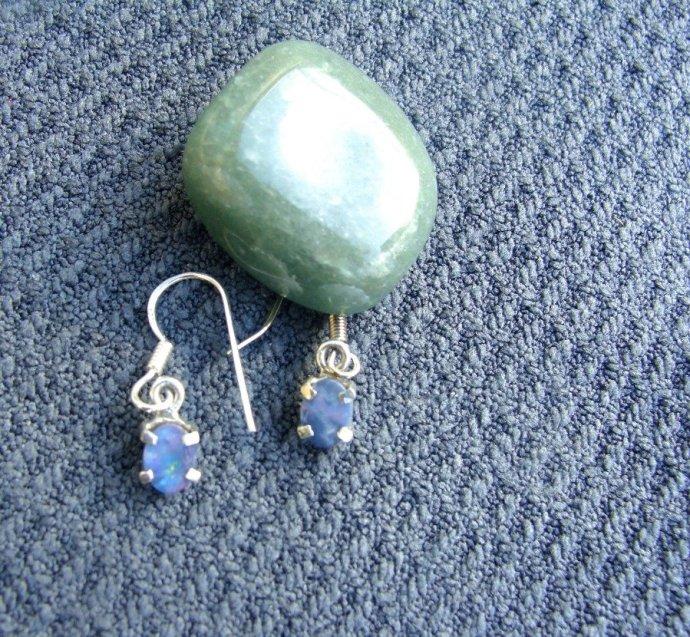 change within yourself, opal earrings, meditation,