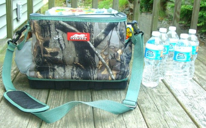 Camo cooler bag, Leopard Outdoor Products, Eva Molded Cooler Bag,