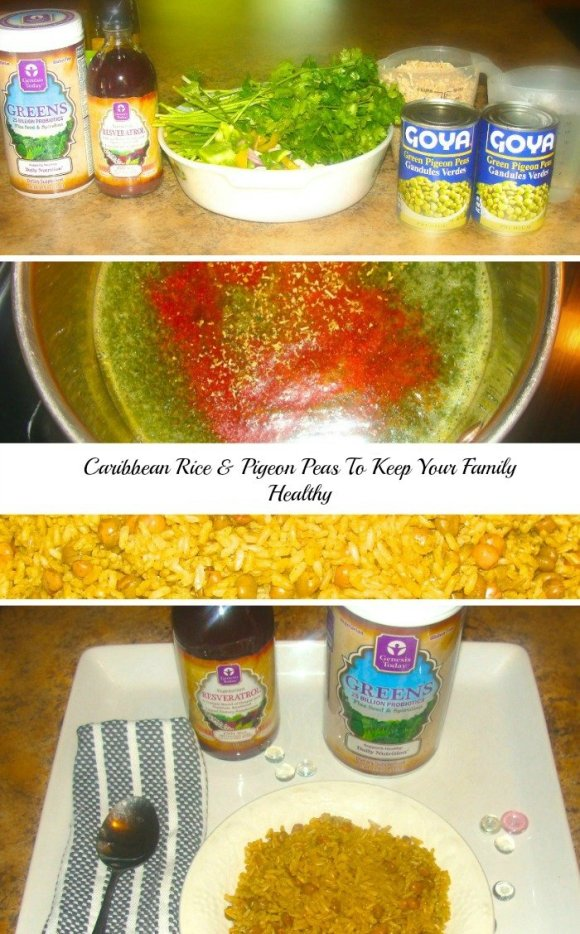 Caribbean Rice & Pigeon Peas To Keep Your Family Healthy, Genesis today superfoods