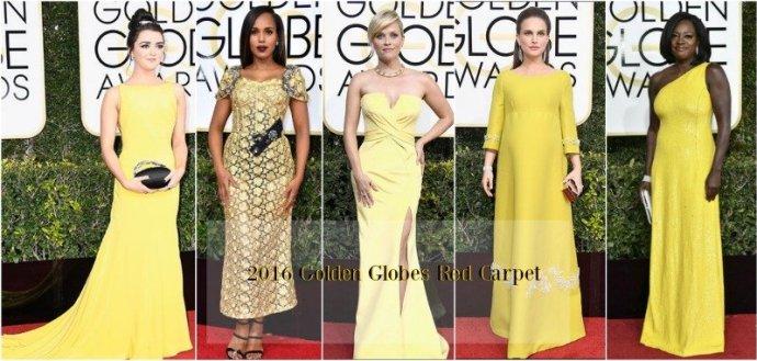 2017 Golden Globe Awards Red Carpet 10 Best Dressed Celebs
