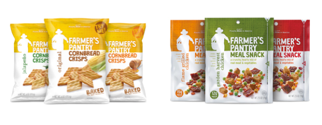 Delicious Snacks Good For You And Your Children, Farmer's Pantry, Farmer's Pantry Cornbread Crisps, Farmer's Pantry Meal Snacks