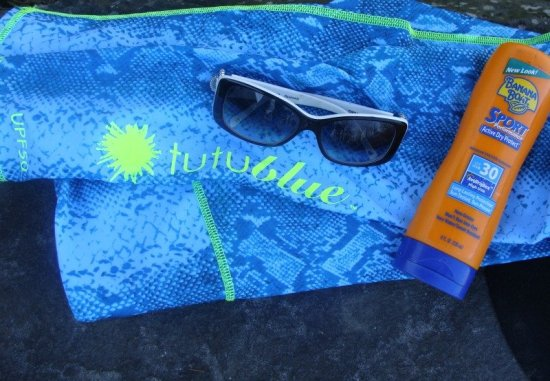 Skin Protection, Aqualung one-piece long beach suit from Tutublue