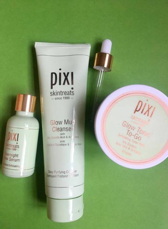 Mother's Day, Gift Ideas, Pixi Beauty Glycolic Glow Getters, Glow Mud Cleanser, Glow Tonic To-Go, Overnight Glow Serum