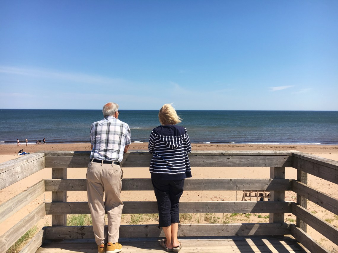 Parents Cavendish Beach