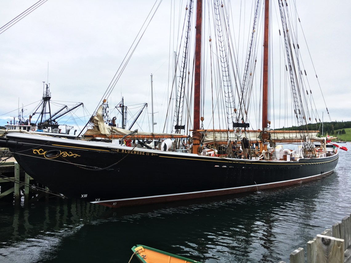 Bluenose - Lunenburg - East Coast Mermaid
