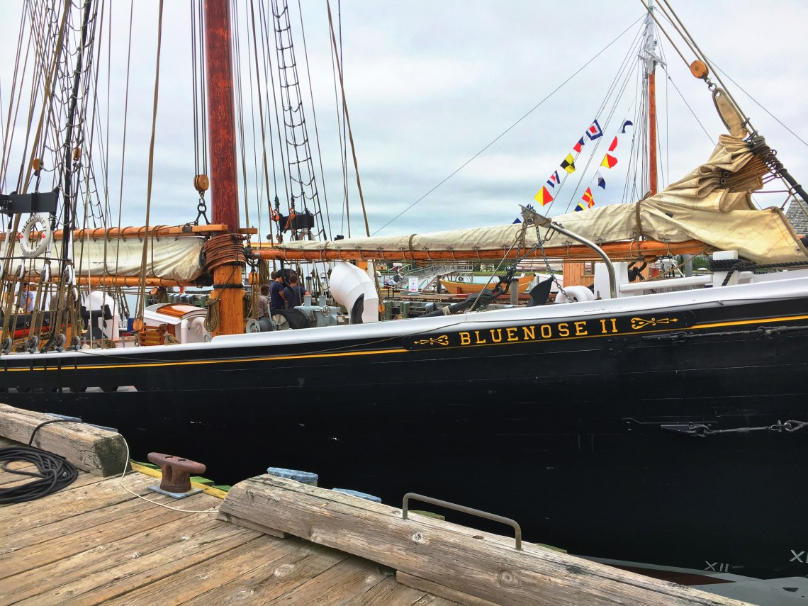 Bluenose Two 2 - Lunenburg - East Coast Mermaid